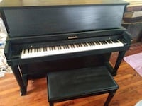 Black Baldwin hi back Piano Washington