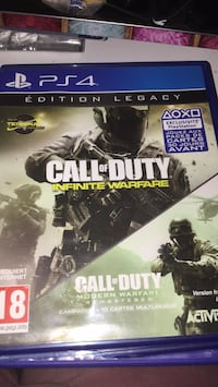Boîtier de jeu Call of Duty Infinite Warfare PS4 Paris, 75018
