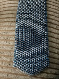 Dragon scale chainmail tie.