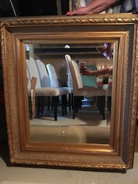 Gold Beveled Mirror Whitchurch-Stouffville, L4A 1N3