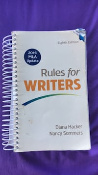 Book (Rules for Writers) Hyattsville, 20784