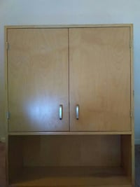 brown wooden 2-door cabinet London, N6A 2T9