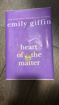 Emily Giffin - Heart of the matter *hard cover*