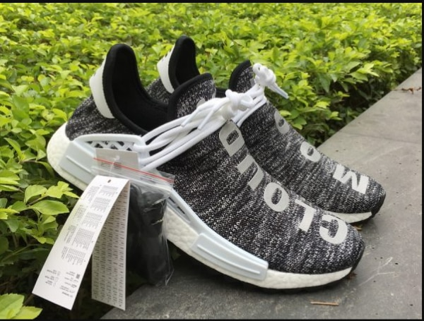 693b6f8a0 Pharrell x adidas NMD Hu Trail Core Black Footwear White AC7359 For Sale