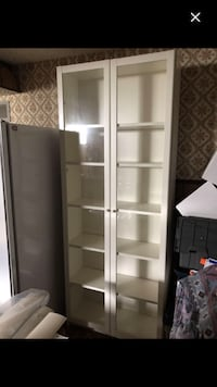 IKEA book case with doors Laval, H7W 2S7
