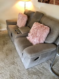 Reclining Loveseat with Cupholders and Storage Silver Spring, 20910