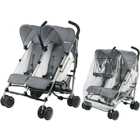 Selling uppababy G-Link Stroller with raincover.