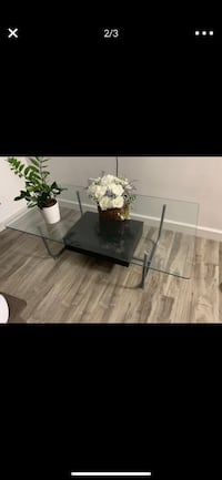MOVING OUT SALE glass table Chicago, 60659