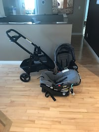Graco click connect travel system Edmonton, T6M 1Y1