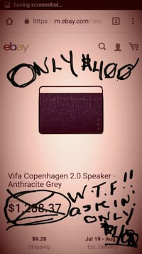 Copenhagen 2 by VIFA ((BEST BLUETOOTH  ..EVER!!)) Hillsboro, 97124