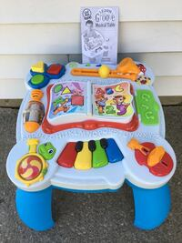 white, blue, and red activity table Freeport, 11520