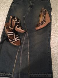 Skirt size 14 shoes size 9 1/2&10 $5.00 each item********