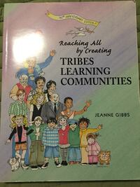 Reaching all by creating tribes learning communities by jeanne gibbs book Ottawa, K2P 0B7