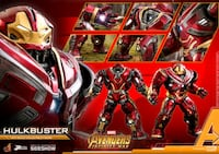Hot Toys Marvel Avengers Hulkbuster Sixth Scale 1:6 Figure PPS005  Germantown, 20874