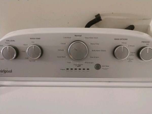 Whirlpool Washer & Dryer for Sale 3f8db8d5-c8ec-4aed-9bcc-72381f3e8e02