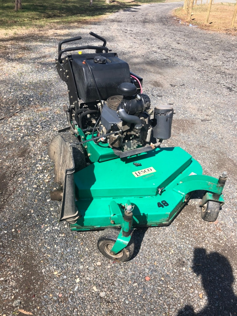 Photo Commercial hydro walk behind mower - 48 inch.