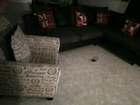 Sectional living and arm chair El Paso, 79924