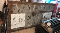 1930's-1950's Malone General Store Sign - 4'x8' Plywood Sheet Quinte West, K8V