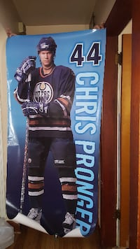 Almost LIFE SIZE CHRIS PRONGER POSTERS...2 AVAILAB Edmonton
