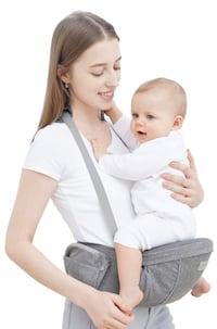 Baby Carrier with Hip Seat - YEAHOME Safety Certified Waist