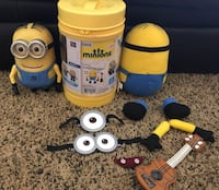 Talking Minion & Build-A-Minion Lot - 83rd & K7, XP Lenexa, 66227