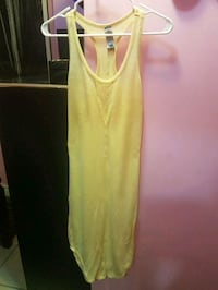 women's yellow tank top Toronto, M6P 3W3