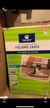 Hello, I am selling this small dog crate for really small dogs, I have a shitszu and he grew faster than I thought, the crate is in perfect condition and has double door. Framingham, 01702