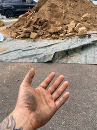 Free dirt and rocks and boulders