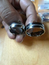 Men's rings size 13.5 ,and 8