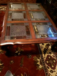 Coffee Table glass panes come out to move easily.  Murfreesboro, 37128