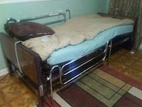 stainless steel semi-electric bed
