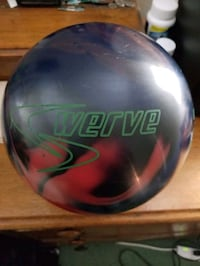 Colombia swerve bowling ball