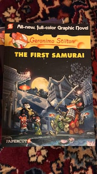 Geronimo Stilton- the first samurai - graphic novel South San Francisco, 94080