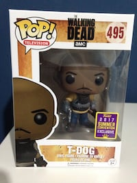 Funko T-Dog The Walking Dead SDCC17