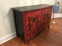 Red antique armoir New Rochelle, 10804