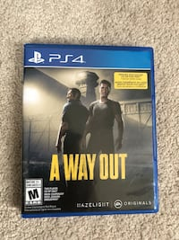 A WAY OUT ps4 !!! Kitchener, N2R 0L9