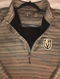 Men's NHL Antigua Golden Knights Half ZIP pullover North Las Vegas, 89031