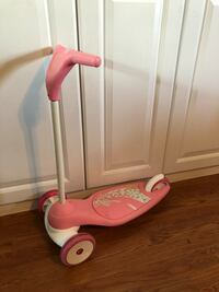 toddler's pink and white kick scooter Wesley Chapel, 33543