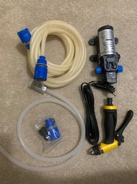12v water pump with extras Richmond Hill, L4S 0J8