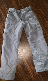 Youth XL Snow Pants Firefly Grey Winter Cargo Snow Pants like new guc