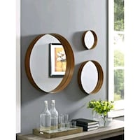 22 inch banded round 3 pack copper mirrors Riverside, 92509