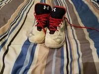 Curry 2.5 Baketball Shoes white/navy blue & red San Antonio, 78223