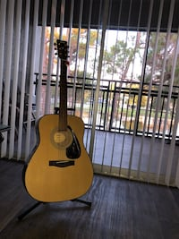 (Like new, non-used) GUITAR + STAND Yamaha F355 Acoustic Guitar Dunedin, 34698