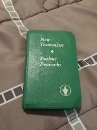 Green New Testament psalms and proverbs Bible Killeen, 76541