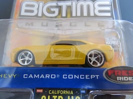 Jada Toys Diecast '06 Chevy Camaro Concepts Rarely Offered