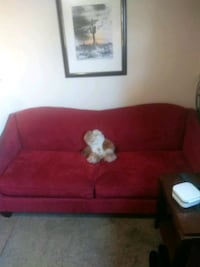 Lasy boy red wine colored sofa, not bed. Fair cond Roseville, 48066