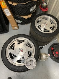 C4 corvette wheels and tires
