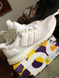 Nmd Primknit, all white ultra boosts size 13 both 300 Enon, 45323