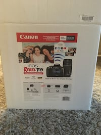 Cannon rebel t6 new