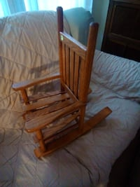 Solid oak rocking chair Sycamore